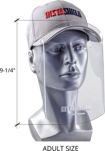 Hat Shield by InstaShield Faceshield