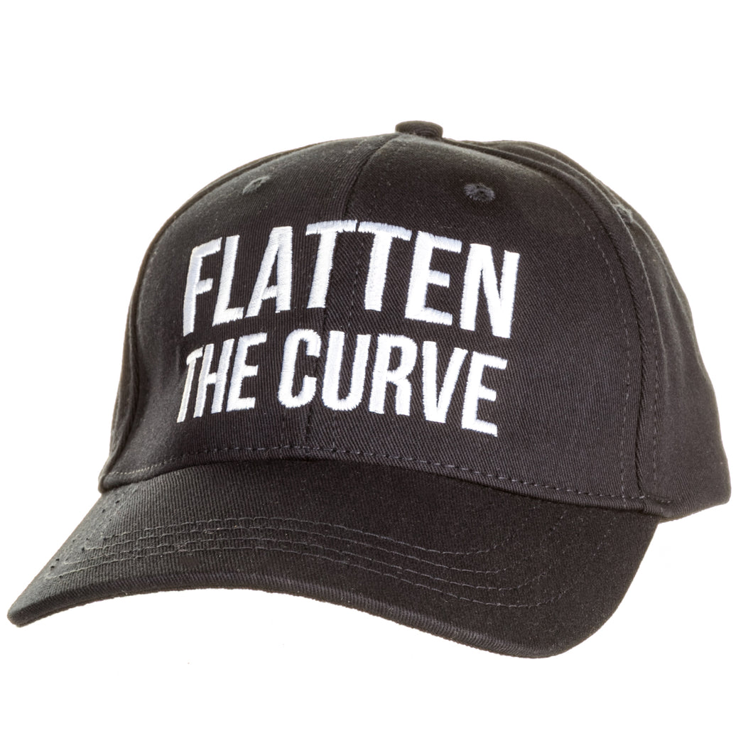 Navy 'Flatten the Curve' Hat