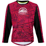 Edison Red - MTB Long Sleeve Jersey