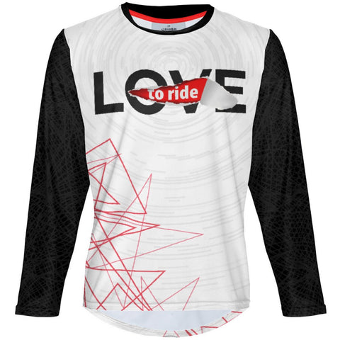 Love to Ride - MTB Long Sleeve Jersey