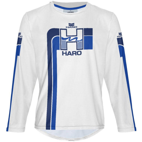 Haro White MTB Long Sleeve