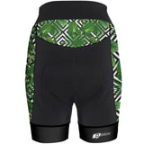 Green Leafs - Cycling Shorts