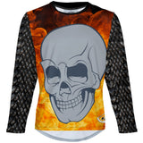 Flame - MTB Long Sleeve Jersey