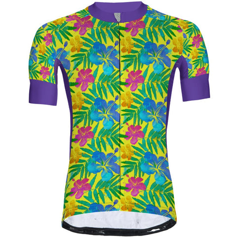 Flowers Yellow - Men Jersey Pro 3