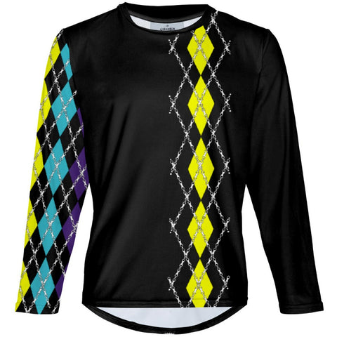 Party Argyle - MTB Long Sleeve Jersey