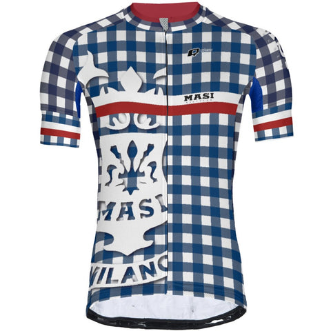 Massi Blue V - Men Jersey Pro 3