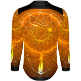 Orange Mandala - MTB Long Sleeve Jersey