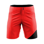 Baxter Red-Black - MTB baggy shorts