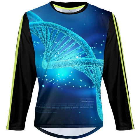 Blue DNA - MTB Long Sleeve Jersey