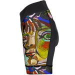 Pop Face - Women Cycling Shorts
