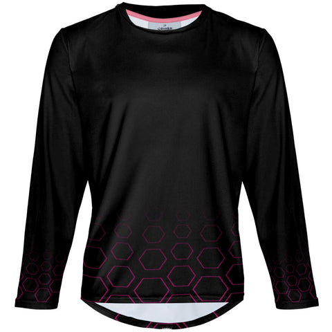 Hex Fade - MTB Long Sleeve Jersey
