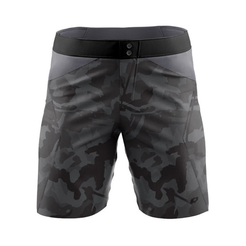 Gray Camo - MTB baggy shorts