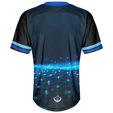 Blue Dots - MTB Short Sleeve Jersey