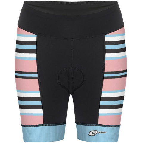Pink Ice - Women Cycling Shorts