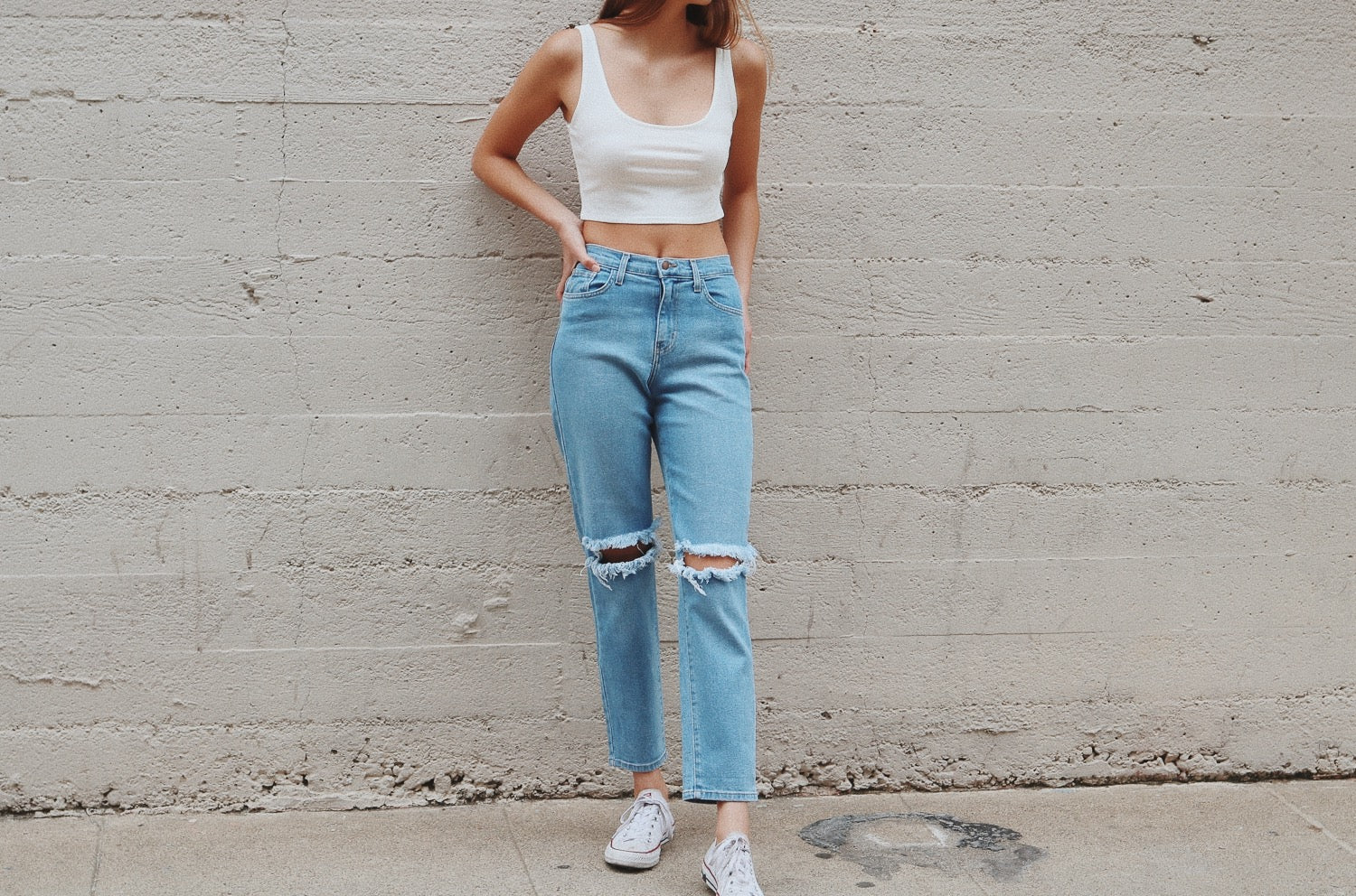 NYCT Clothing Boyfriend Jeans