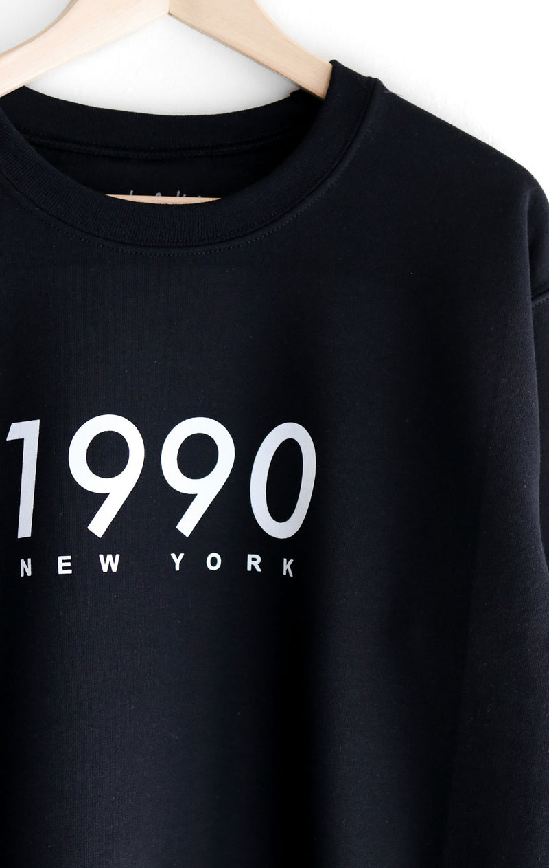 NYCT Clothing 1990 New York Oversized Sweatshirt