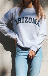 NYCT Clothing Arizona Sweatshirt - Ash Grey
