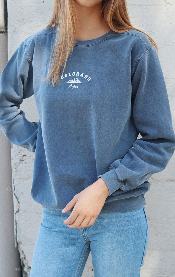 NYCT Clothing Aspen Colorado Sweatshirt