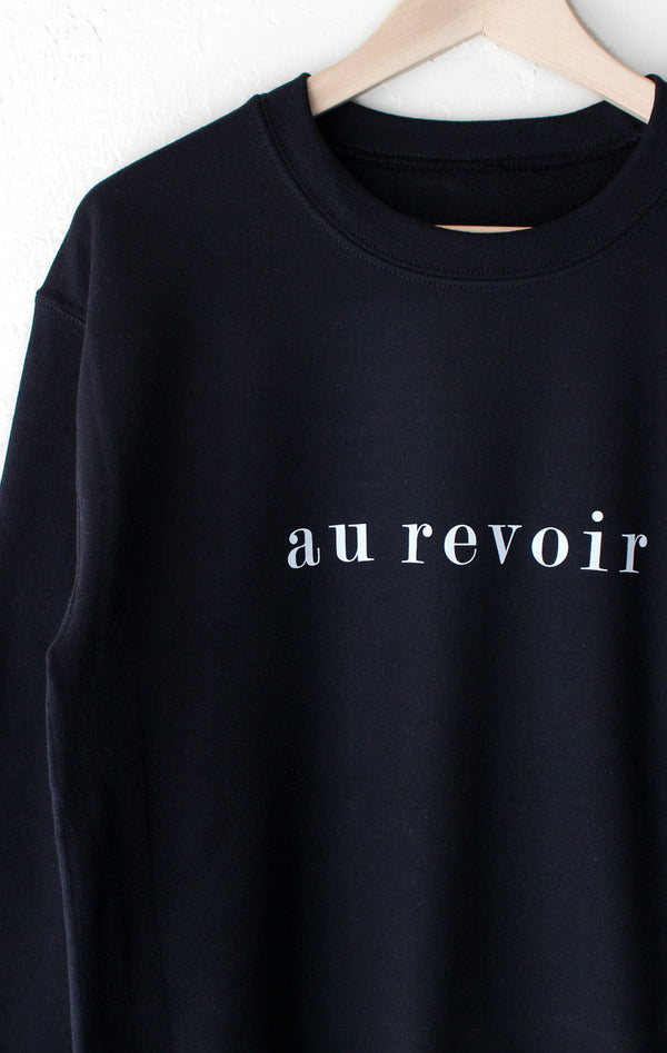 NYCT Clothing Au Revoir Oversized Sweatshirt