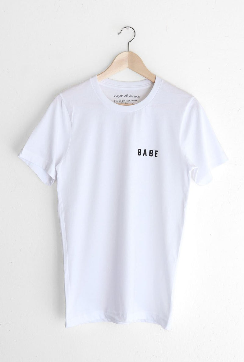 NYCT Clothing Babe Tee - White