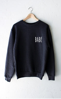 NYCT Clothing Babe Sweatshirt