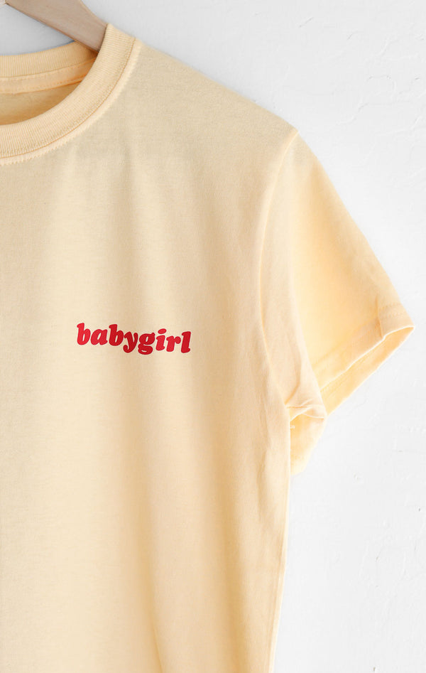 NYCT Clothing Babygirl Tee - Yellow