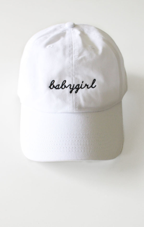 NYCT Clothing Babygirl Cap - White