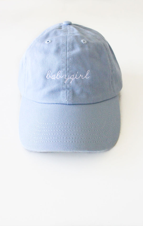 NYCT Clothing Babygirl Cap - Light Blue