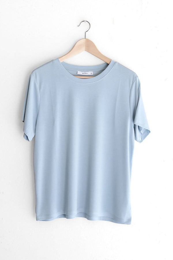 NYCT Clothing Basic Tee - Light Blue