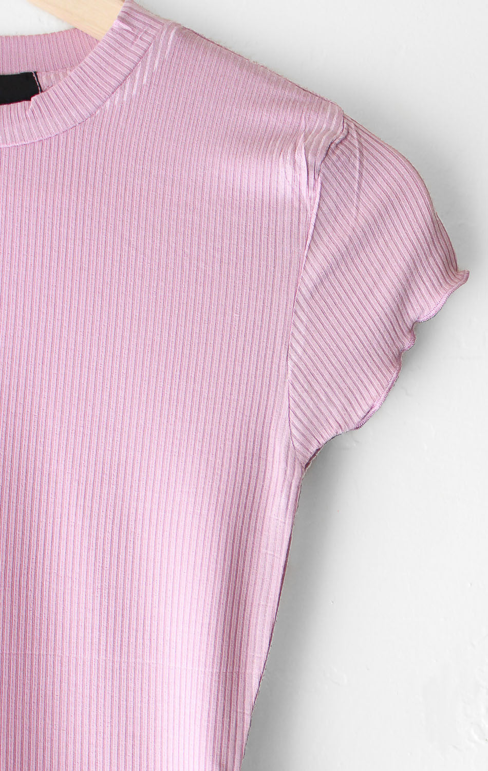 NYCT Clothing Basic Crop Top - Mauve