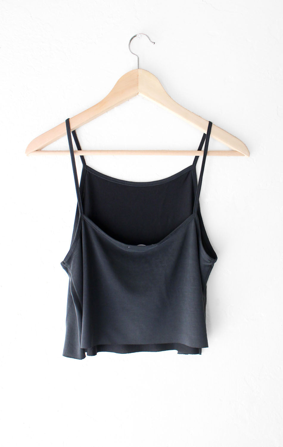 NYCT Clothing Basic Cropped Cami - Black