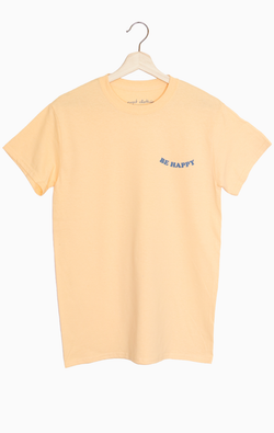 NYCT Clothing Be Happy Tee
