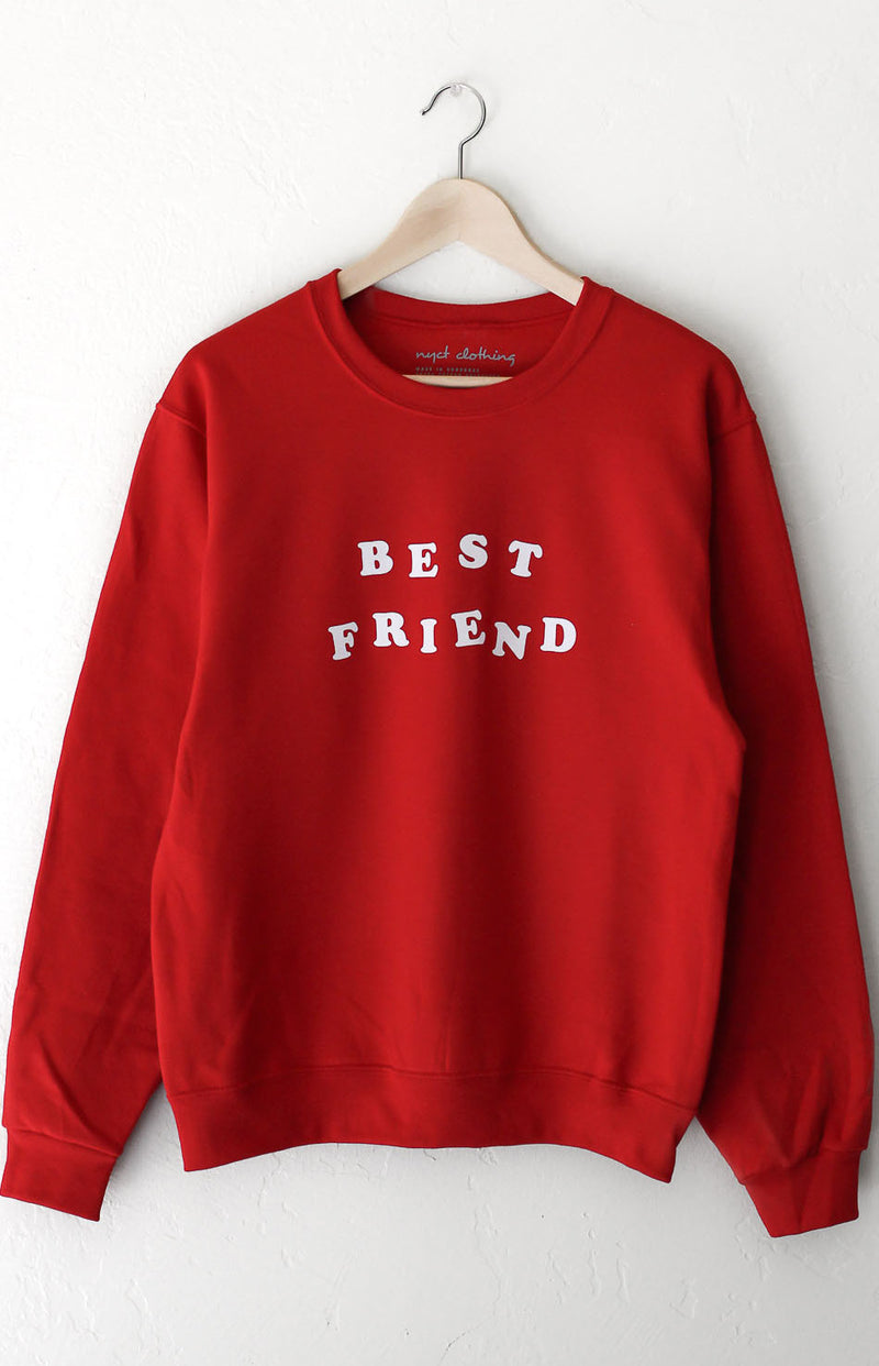NYCT Clothing Best Friend Sweatshirt