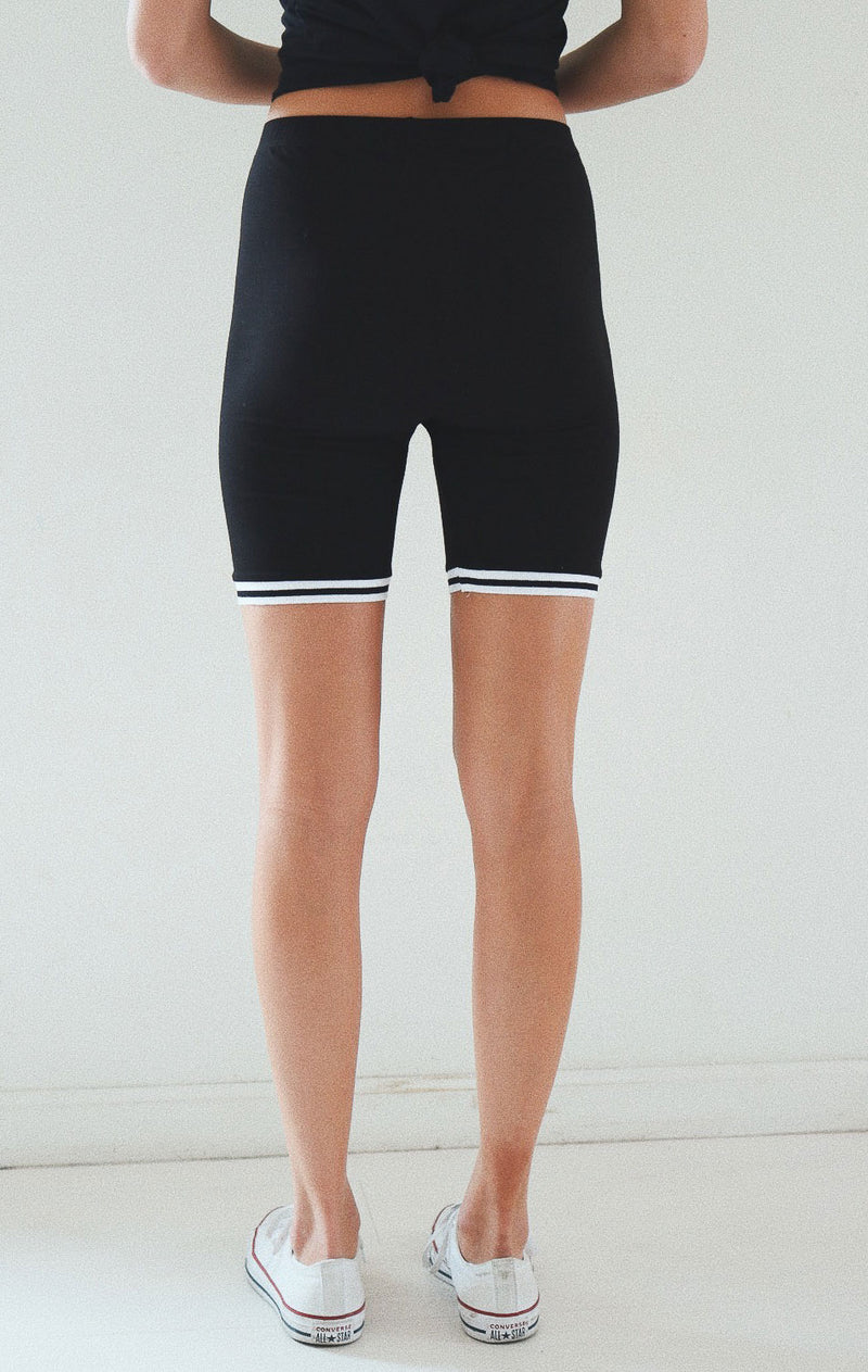 NYCT Clothing Biker Shorts - Black