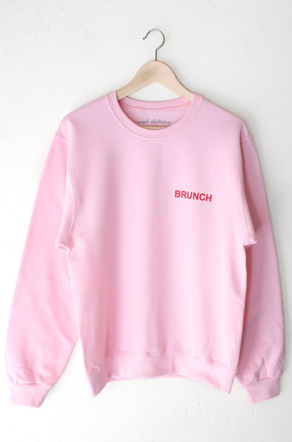 NYCT Clothing Brunch Oversized Sweatshirt