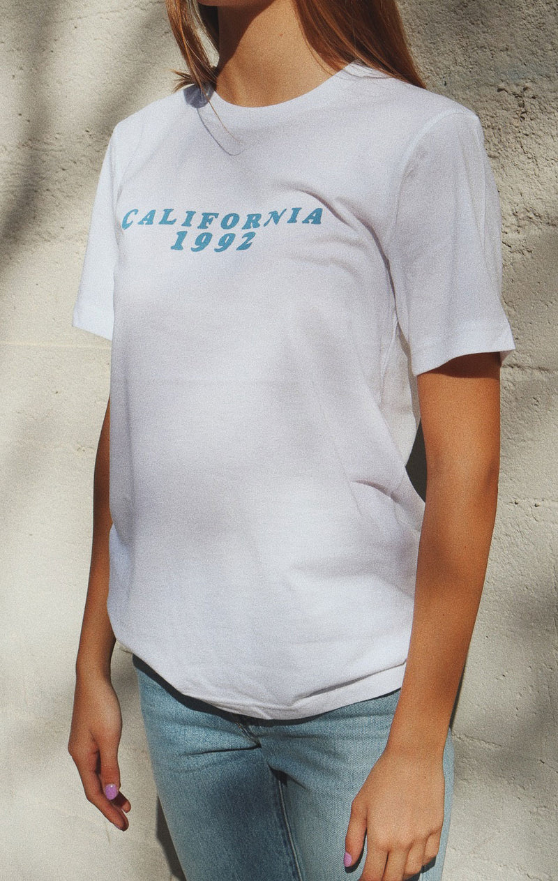 NYCT Clothing California 1992 Tee - White