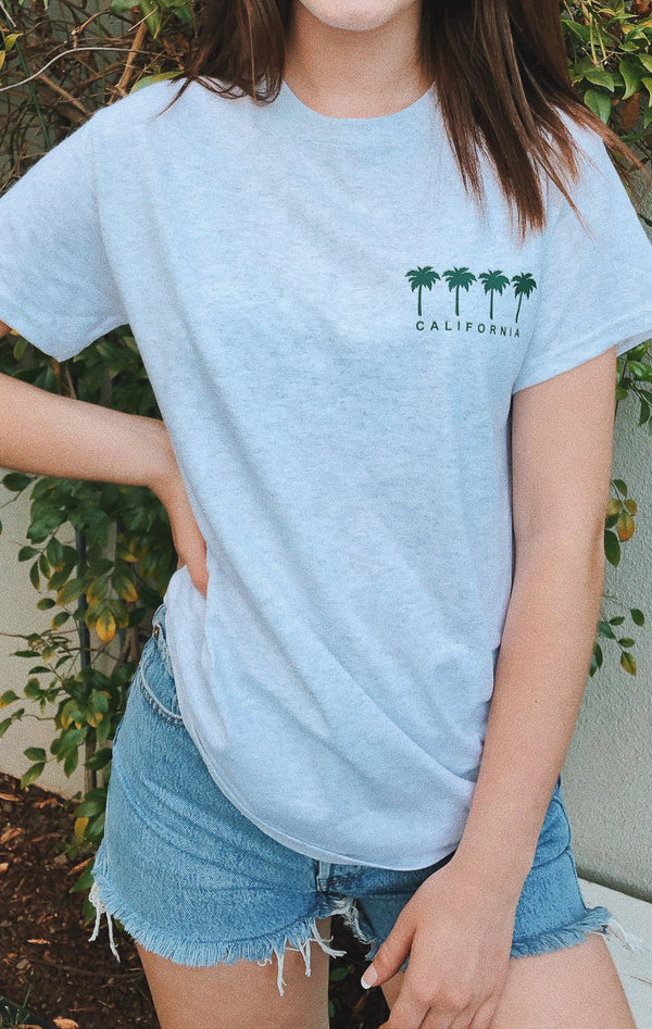 NYCT Clothing California Palm Trees Tshirt