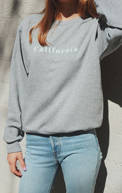 California Sweatshirt - Grey