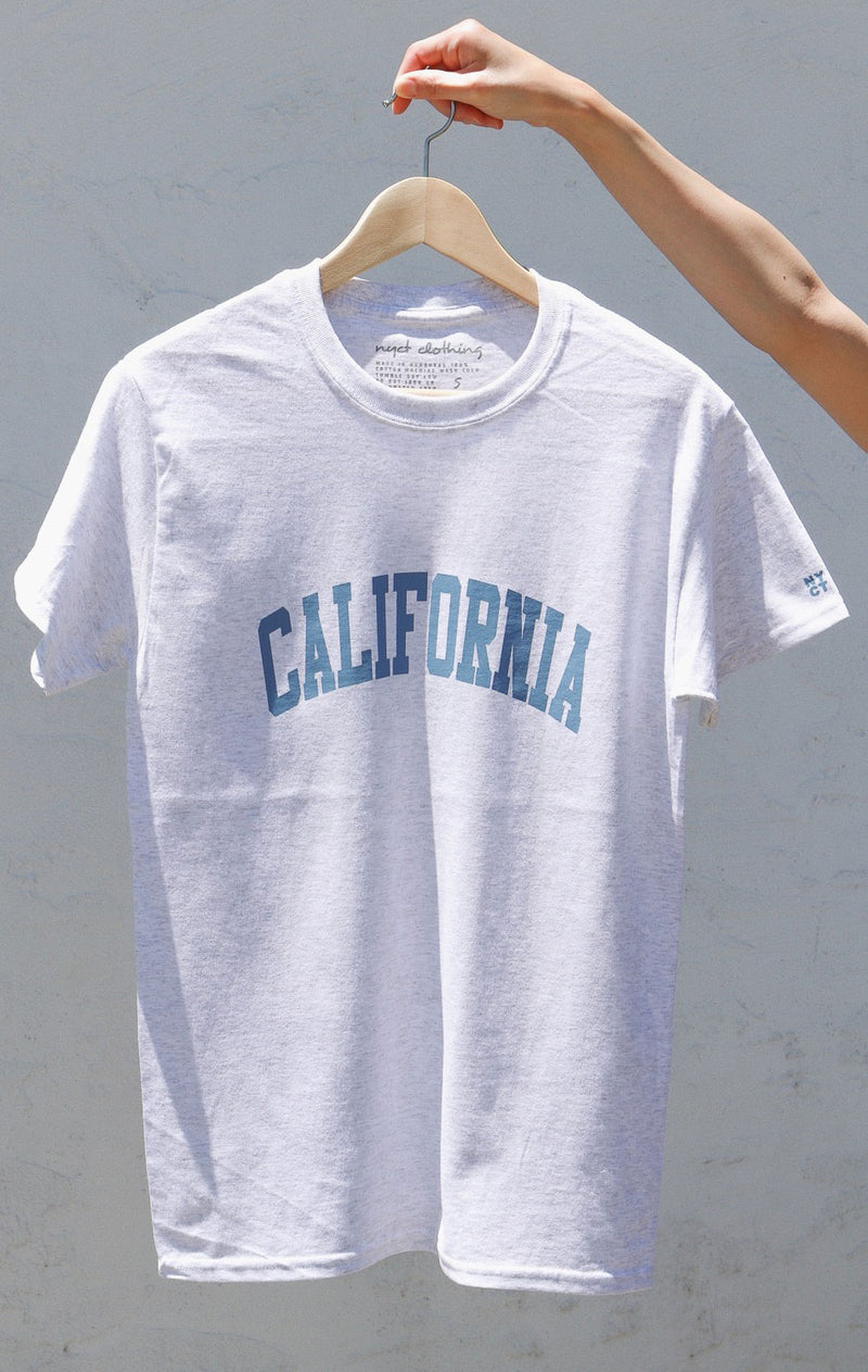 NYCT Clothing California T-shirt - Ash Grey