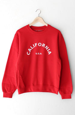 NYCT Clothing California USA Oversized Sweatshirt