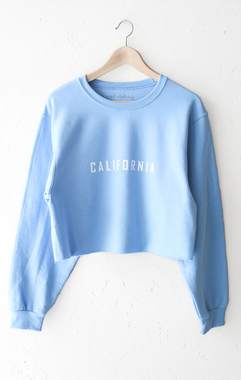 NYCT Clothing California Cropped Sweater