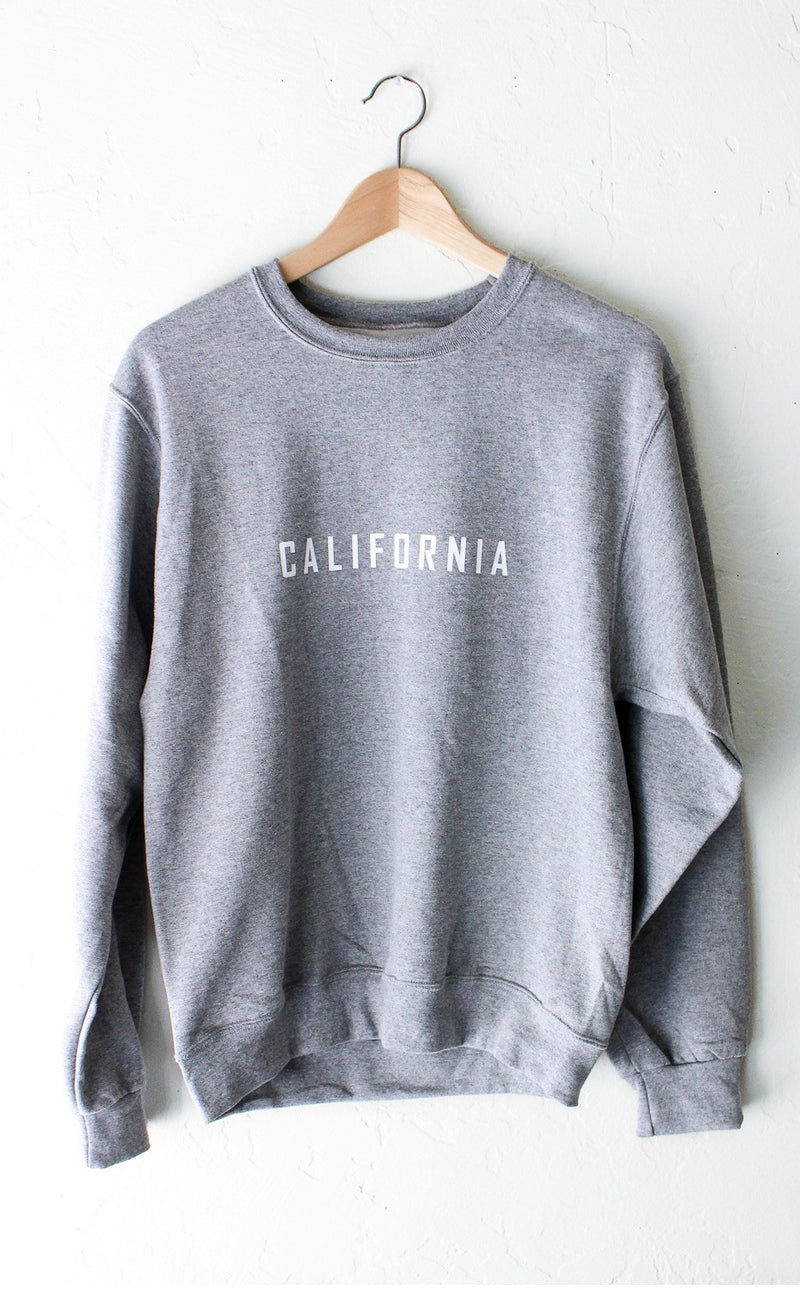 NYCT Clothing California Sweatshirt - Grey