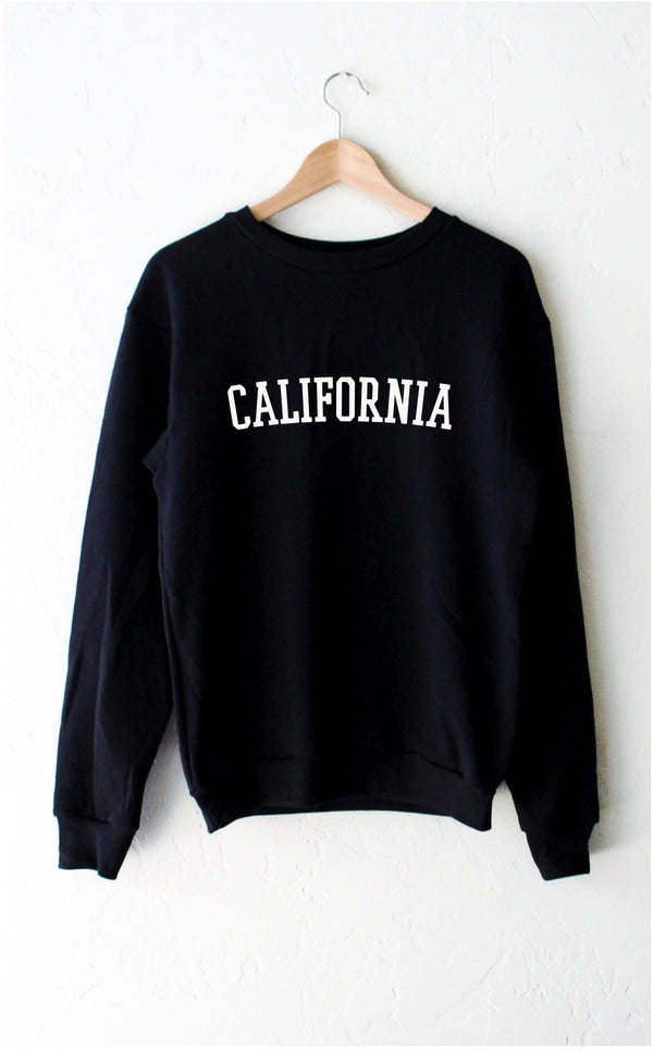 NYCT Clothing California Oversized Sweatshirt