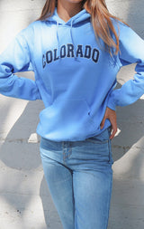 NYCT Clothing Colorado Oversized Hoodie
