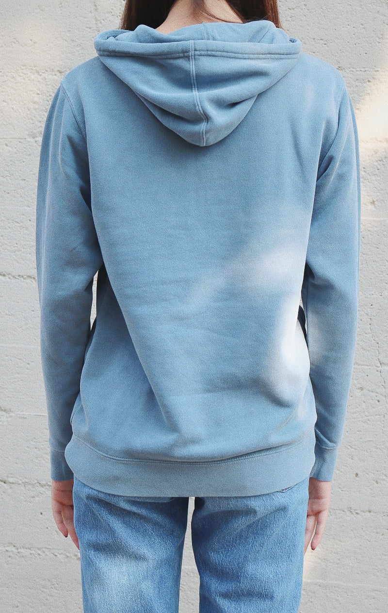 NYCT Clothing Colorado Hoodie - Vintage Blue