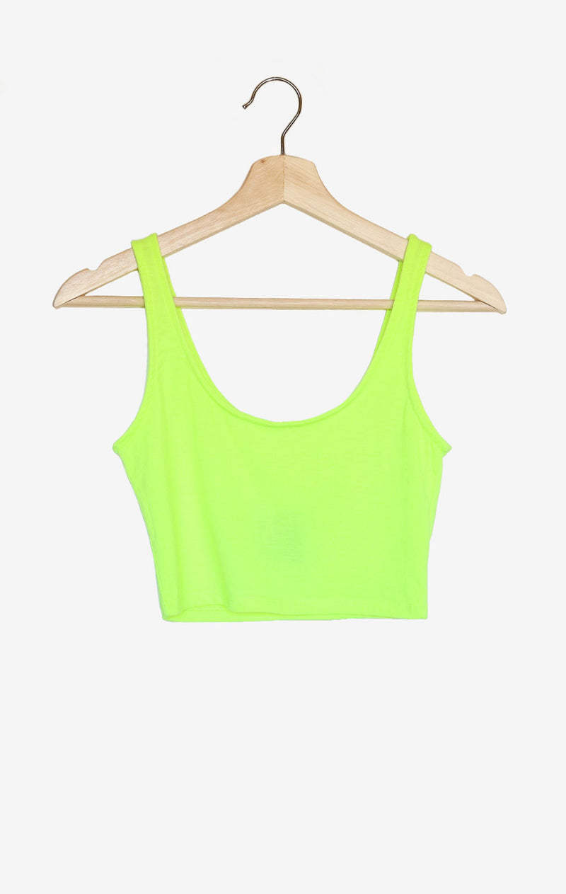 NYCT Clothing Crop Tank Top