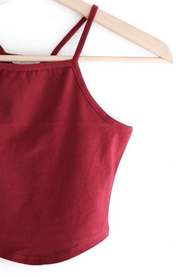 NYCT Clothing Cropped Cami Tank Top