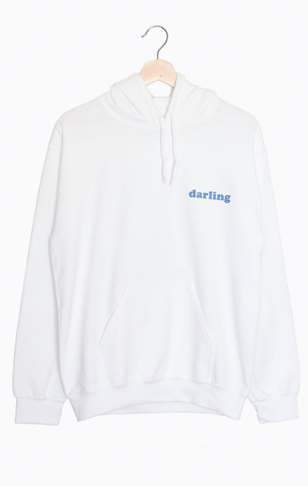 NYCT Clothing Darling Oversized Hoodie - White
