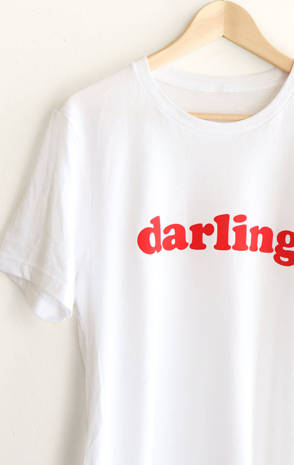 NYCT Clothing Darling Tee - White