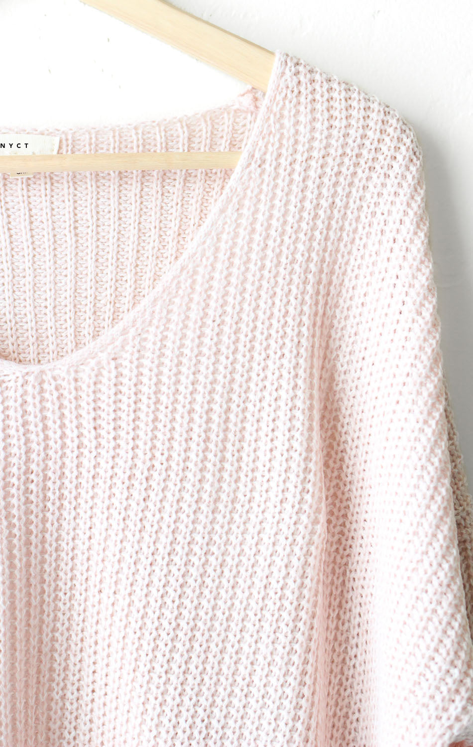 NYCT Clothing Dusty Mauve Knit Sweater